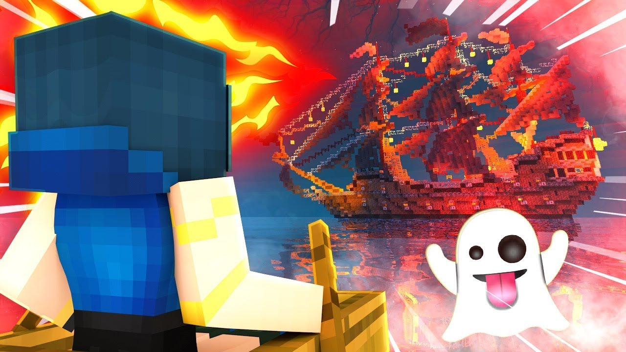 Download WE FOUND A HAUNTED GHOST SHIP! | Krewcraft Minecraft Survival | Episode 17