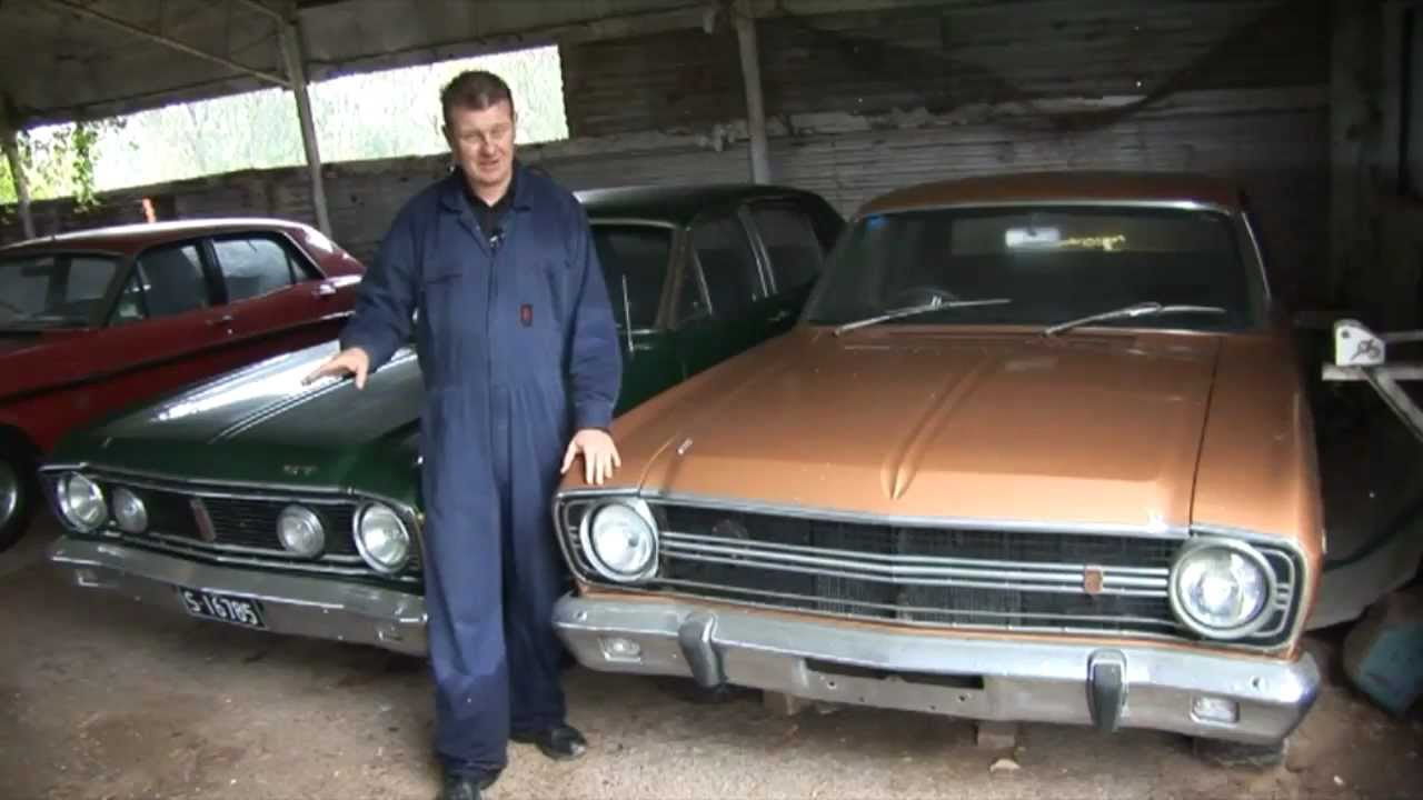 Gasolene S02E06 Muscle Car Barn Find Pt 2 - YouTube