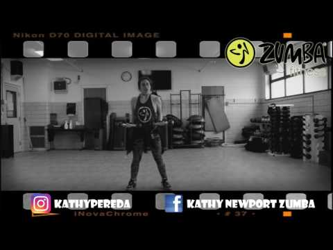 Zumba® Toning with Kathy - Hasta Abajo by Joey Montana [HD]