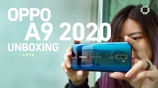 OPPO A9 2020 Unboxing - Quad Camera Photo Samples!