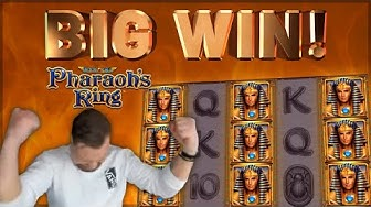 BIG WIN!!! Pharaohs Ring BIG WIN - Casino Games from CasinoDaddy (Gambling)