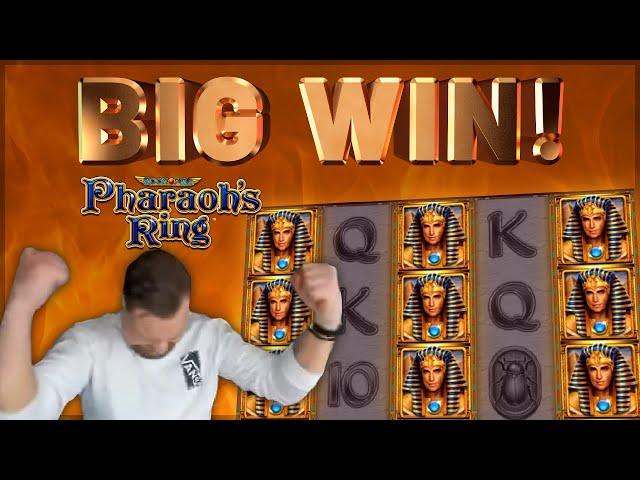 BIG WIN!!! Pharaohs Ring BIG WIN - Casino Games from CasinoDaddy (Gambling)