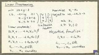 1   Linear Programming Basics