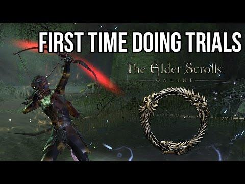 Elder Scrolls Online - First Time Doing Trials