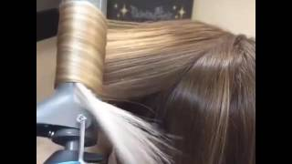 Как сделать красивые локоны с помощью полойки!❤❤