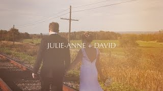 Julie-Anne + David - Ottawa Wedding NEXT Restaurant