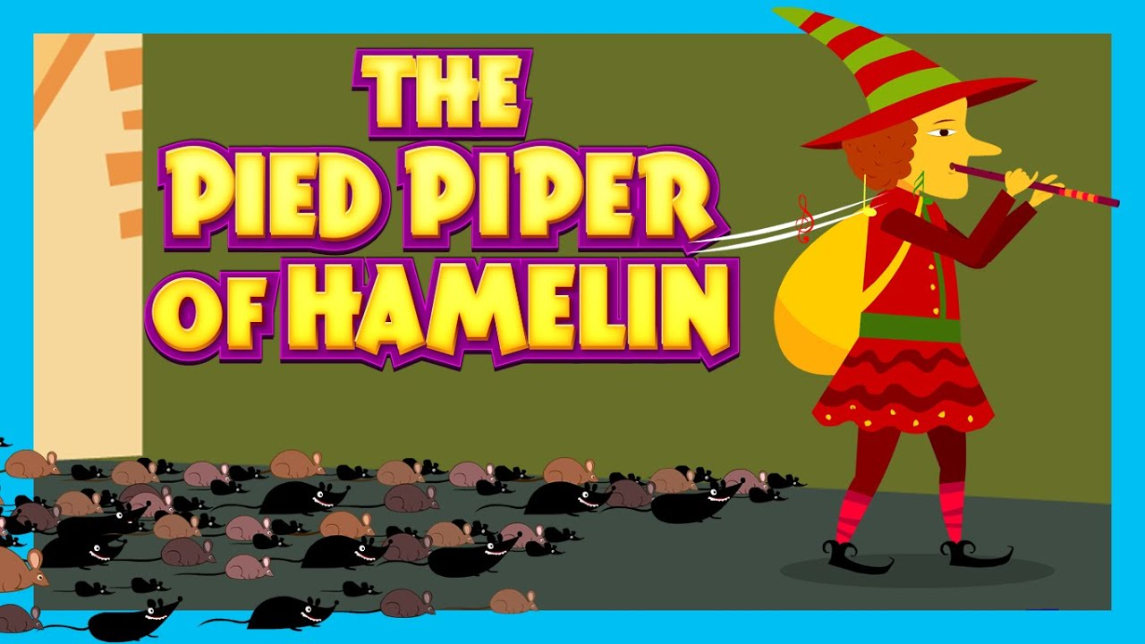 The Pied Piper Of Hamelin Fairy Tales For Kids Traditional Story