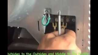 How to install a 3-prong and 4-prong dryer cord.