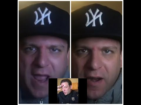 FAKE Nypd officer Jacob Berger Spits A Sick Freestyle On Live