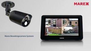 Marex bewakingscamera systeem