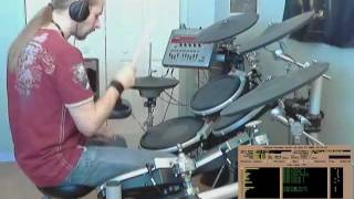 Chris Jarvis - Blue Flame (Drums cover)