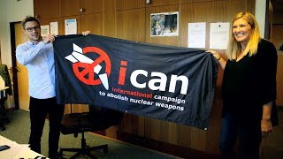 Nuclear Ban Group ICAN Wins Nobel Peace Prize as Trump Threatens to End Iran Deal & Nuke North Korea
