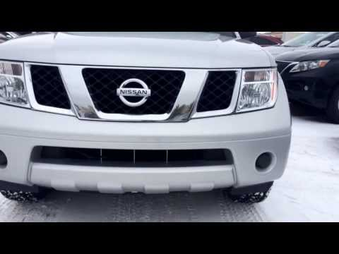 Pre Owned 2007 Silver Nissan Pathfinder LE Calgary
