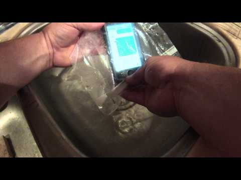 Water-proof your cell phone using the FoodSaver bag sealer.