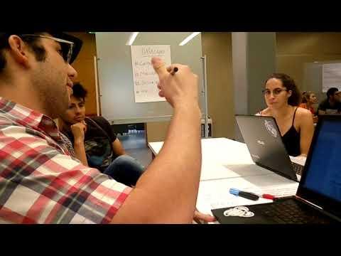Franco Bellomo en el Open Data Day de Buenos Aires 2018