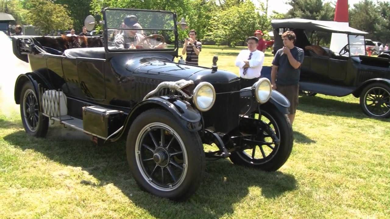 Stanley Steamer Car >> Stanley Steamer 1917 Starting Driving Youtube