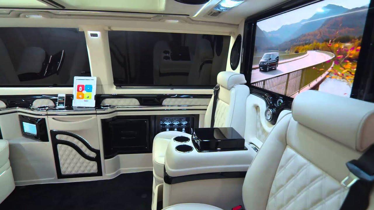 Genfer Autosalon News KLASSEN VW T5 VIP Business Luxus