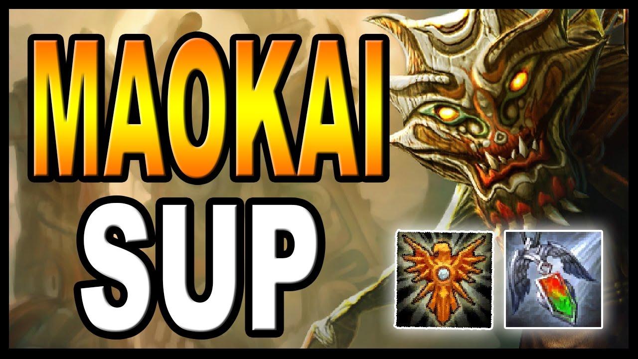 Maokai Support   Build