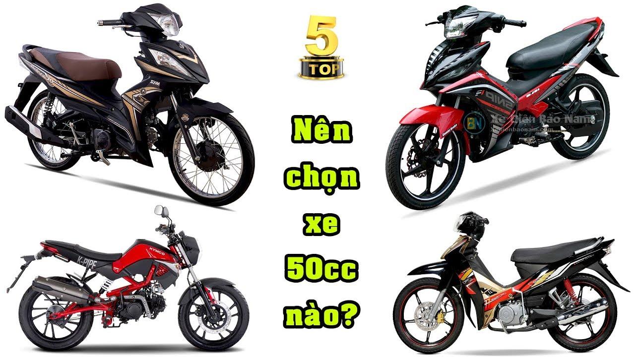 Nên chọn XE MÁY 50cc nào?|Các dòng xe máy 50cc được yêu thích nhất|TOP 5 ĐAM MÊ