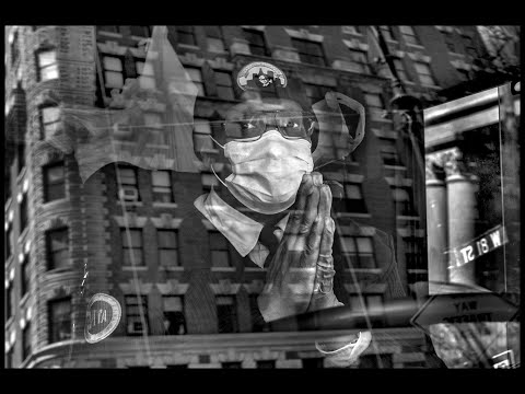 The Human Face of Covid-19-New York City-Photographs by Peter Turnley
