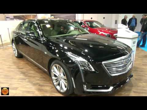 2017 Cadillac CT6 Sedan - Exterior and Interior - Zürich Car Show 2016
