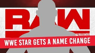 WWE Superstar Gets A Name Change
