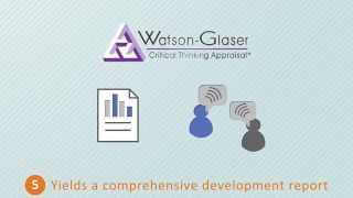 Watson-glaser critical thinking assessment