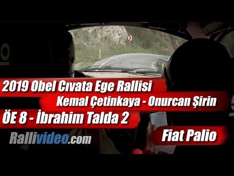 INCAR // 2019 Ege Rallisi / Kemal Çetinkaya - Onurcan Şirin / Fiat Palio / ÖE 8 - İbrahim Talda 2