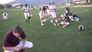 How to ask a football player to sadies