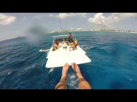 Parasailing Over Grand Cayman