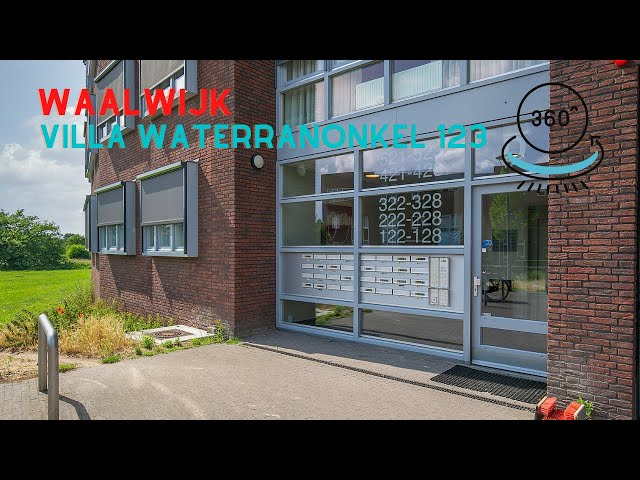 360 graden video YouTube - Villa Waterranonkel 123 Waalwijk