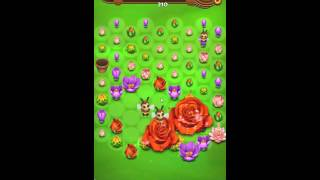 Blossom Blast Saga Level 134 New No Boosters