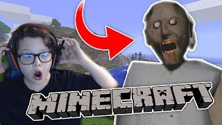 Ma joc GRANNY IN MINECRAFT Cat de tare Super HORROR