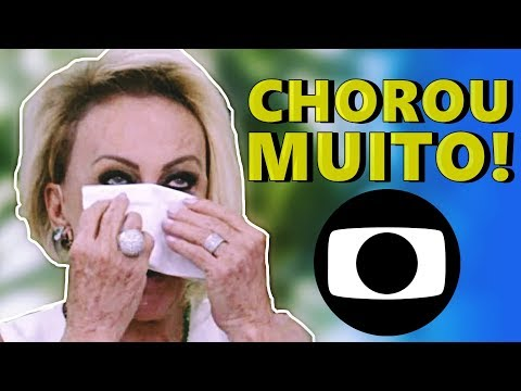 🌀 Ana Maria Braga cai no choro, após emoção com atriz Letícia Spiller
