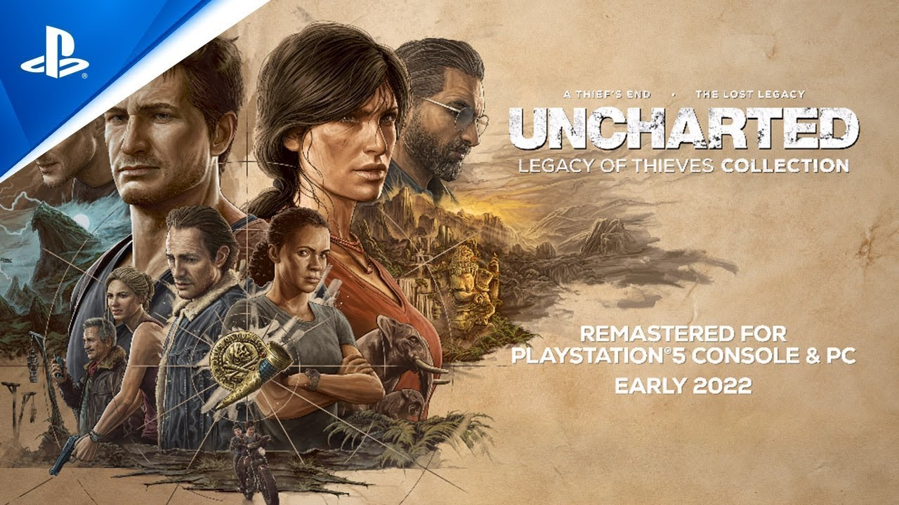 PS5《Uncharted: Legacy of Thieves Collection》預告影片 | PlayStation Showcase 2021