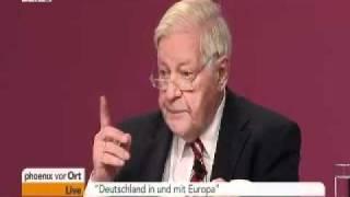 Rede von Alt-Bundeskanzler Helmut Schmidt auf dem SPD-Parteitag