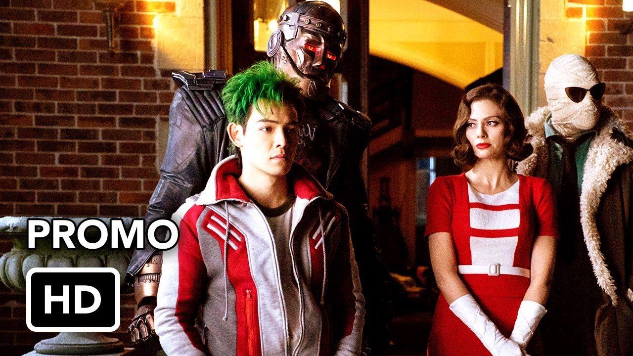Doom Patrol Dc Universe Teaser Promo Hd Youtube