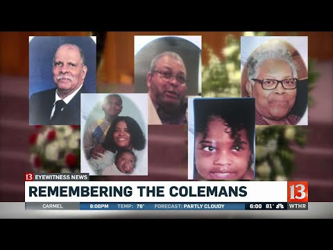 Remembering the Colemans, second day of services