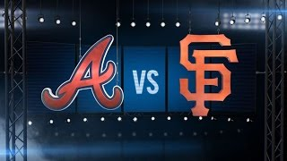 8/28/16: Giants use eight-run 7th to rout Braves