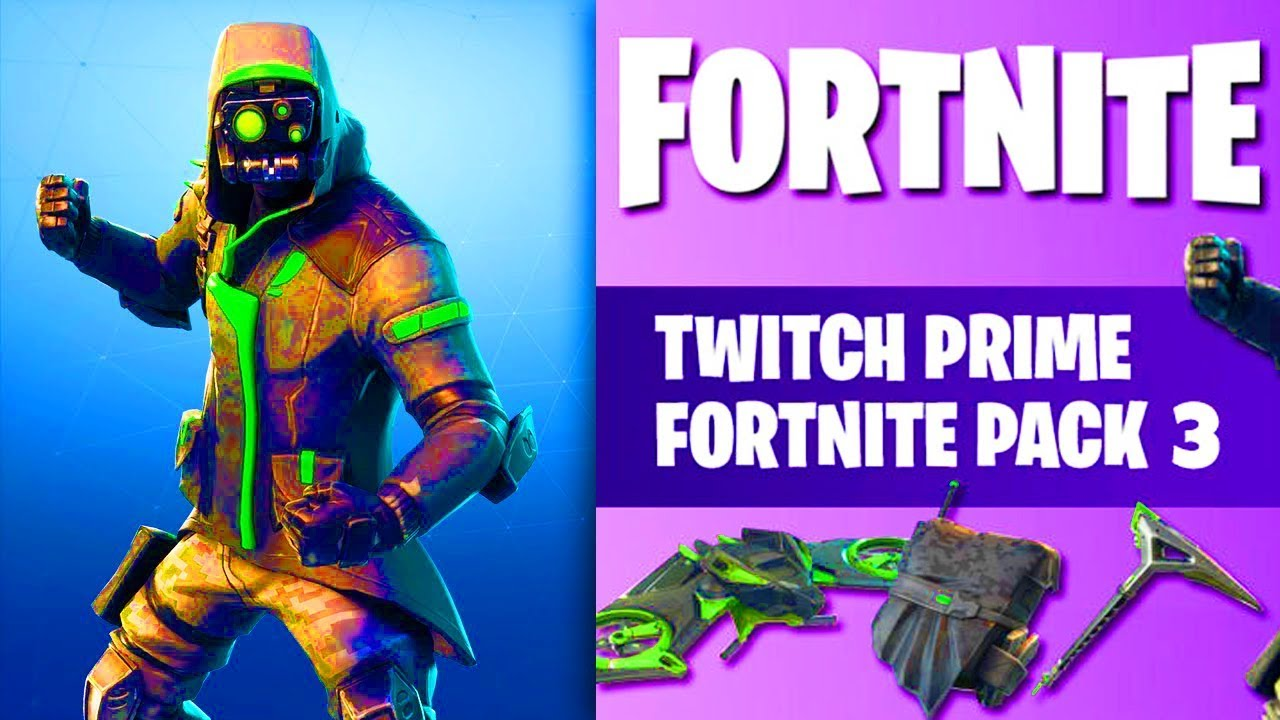 NEW TWITCH PRIME SKIN 3 CANCELLED Fortnite Archetype Skins,54UP8