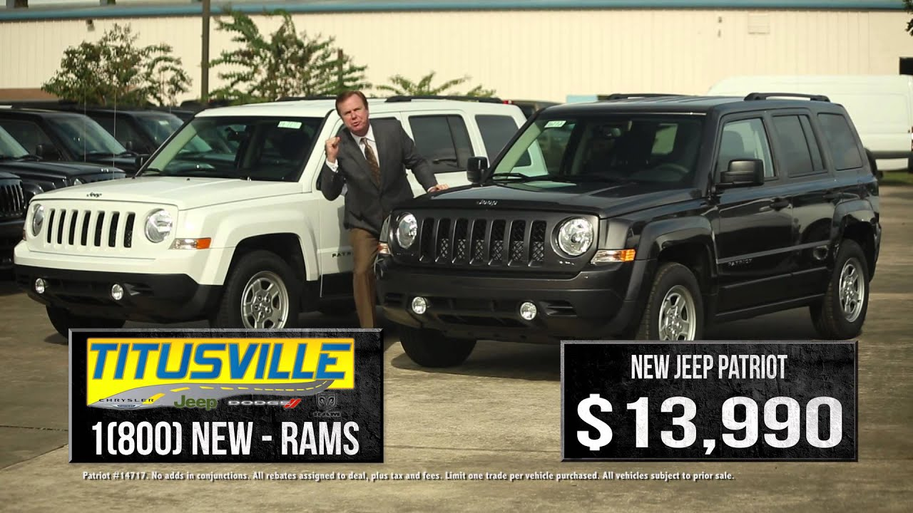 Lovely Jeep Patriot Year End Blockbuster | Titusville Chrysler Jeep Dodge Ram