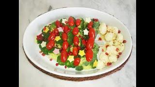 #салат#новогодняя_ёлка#Салат Новогодняя ЁЛКА ProFood by gypsy