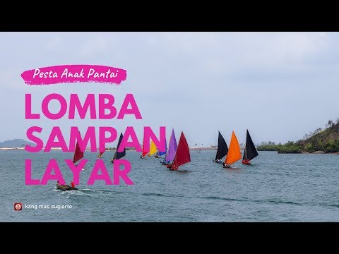 VIDEO - Lomba Sampan Layar di Batam