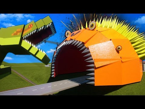 MONSTER WORM, SNAKE, & ALLIGATOR TAKE OVER LEGO CITY! - Brick Rigs Survival Multiplayer Gameplay  