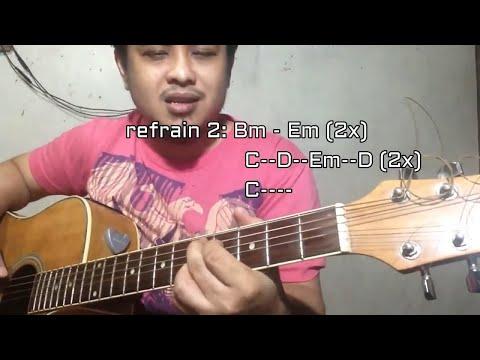 True Chords - Guitar Strumming tutorial tagalog - Ryan Cabrera song - Pareng Don Intl songs