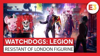 "WATCH DOGS®: LEGION - Фигурка ""Resistant of London"" - трейлер анонса"