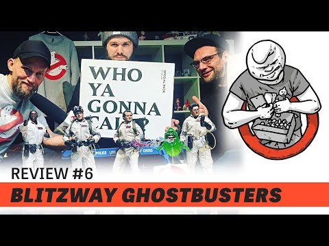 Choking Hazard - Review #06 - BLITZWAY Ghostbusters - Special Pack