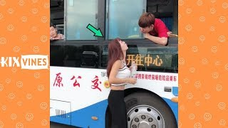 Funny videos 2019 ✦ Funny pranks try not to laugh challenge P54