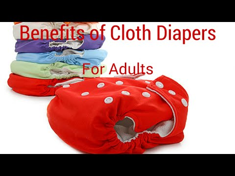 The Benefits of Cloth Diapers for Adults