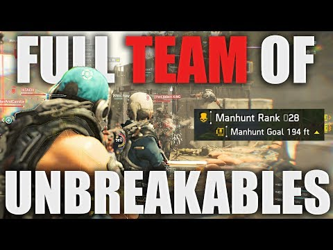 TRASH TALKER GETS HIS TEAM KILLED! UNBREAKABLE CAN'T SAVE YOU!! THE DIVISION 2
